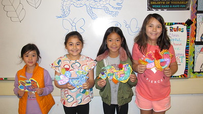 Artistic Birds Given Flight at LCE