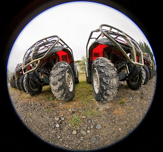 Quadbiking in the Akatarawa Range
