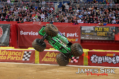 Monster Jam St Louis 2012
