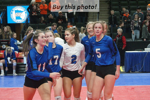 BBE volleyball state cons-semis 11-08