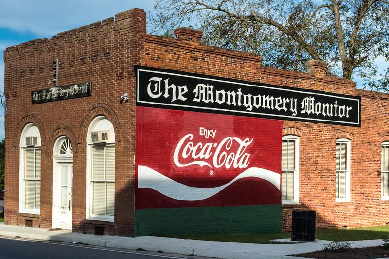 GA, Mount Vernon - Coca-Cola Wall Sign