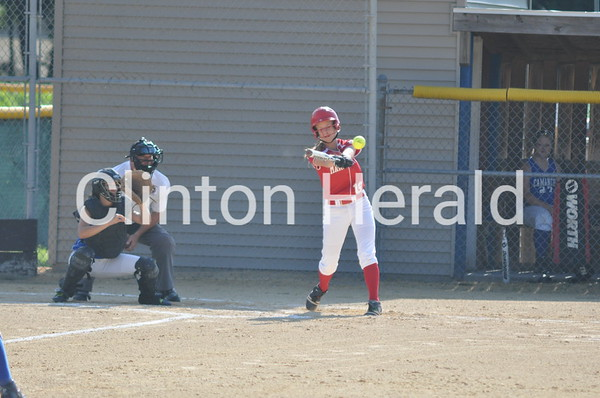 Marquette Catholic at Camanche softball (7-1-13)