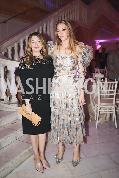 Jess Rotter, Ashley Furnival. Photo by Bruce Allen. 2018 Rodarte Exhibition Reception