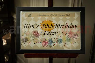 Kim 50th Celebration