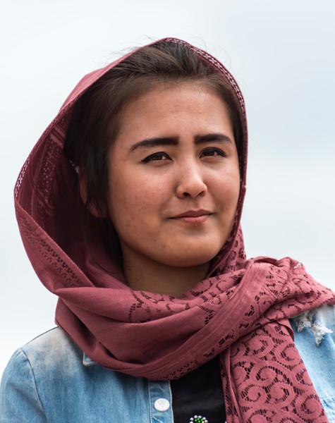 Portrait of Uzbek Woman