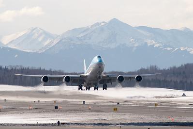 Anchorage International Airport - April 2017