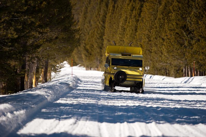 Snowcoach Pickup