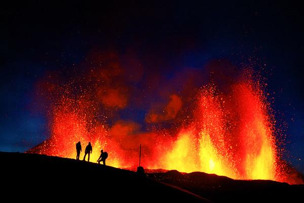 Fimmvörðuháls - Eyjafjallajökull 2010