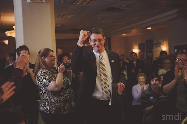 2013 Mayor Jim Ireton's Election Night