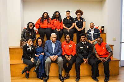 Wayne Embry Visits City Year Milwaukee