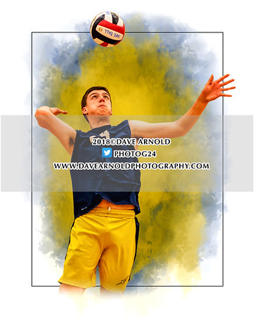 4/9/2018 - Boys Varsity Volleyball - Needham