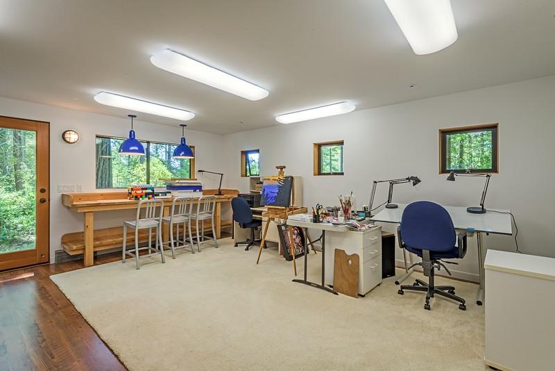 Lower Level Art Studio