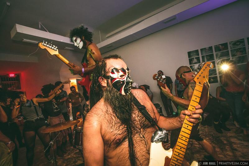 Daikaiju performing at Space Mountain, Miami, Florida, August 5th, 2014