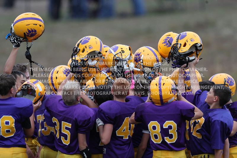 September 29, 2016 Bayfield 7th Grade Football vs Cortez