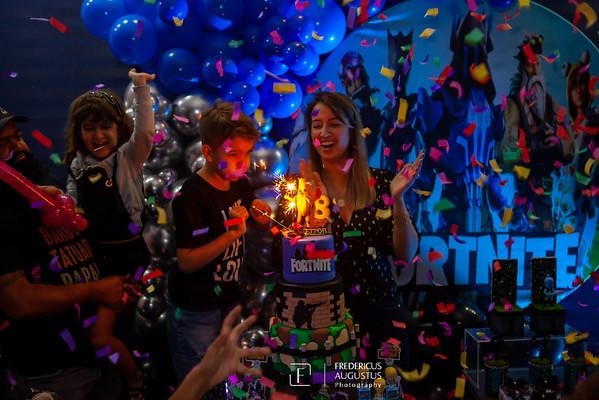 Festa de Aniversário do Fortnite no Sonho Meu do Heitor