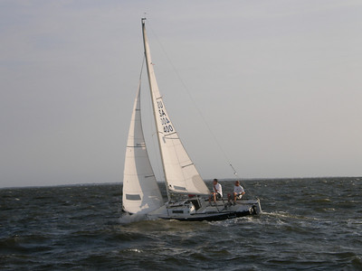 Tuesday Night Sailing - Seabreeze on