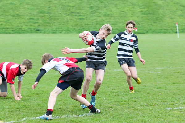 Under 15's 7's - Croft Park, Kelso, May 16