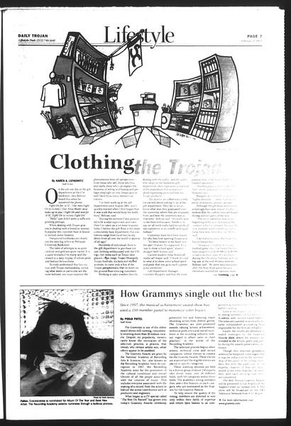Daily Trojan, Vol. 151, No. 15, February 04, 2004