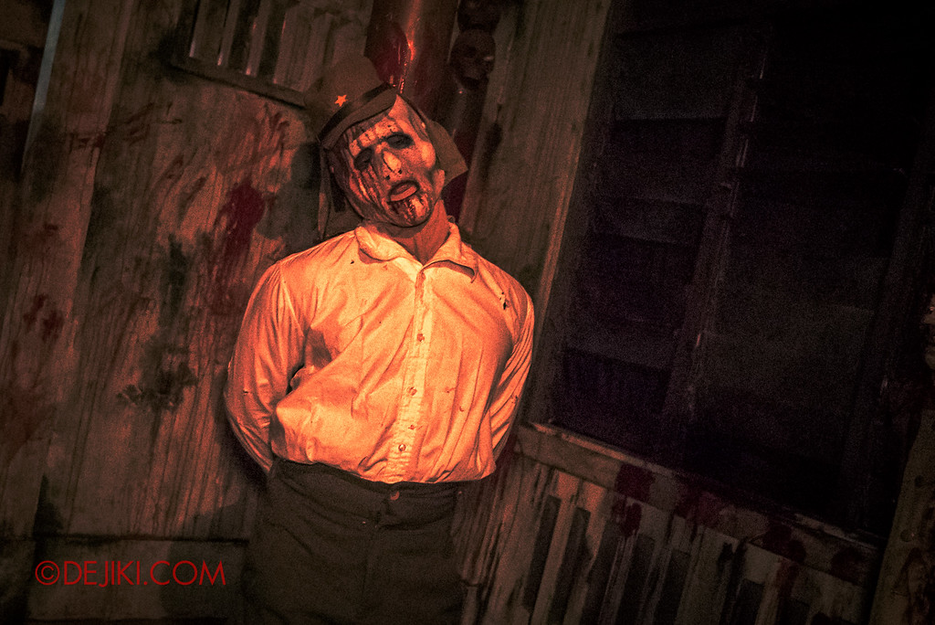 Halloween Horror Nights 6 - Old Changi Hospital / Japanese soldier torture