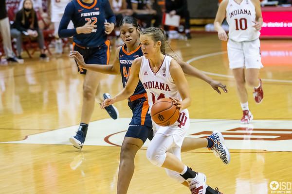 Indiana University Women Basketball vs. Illinois