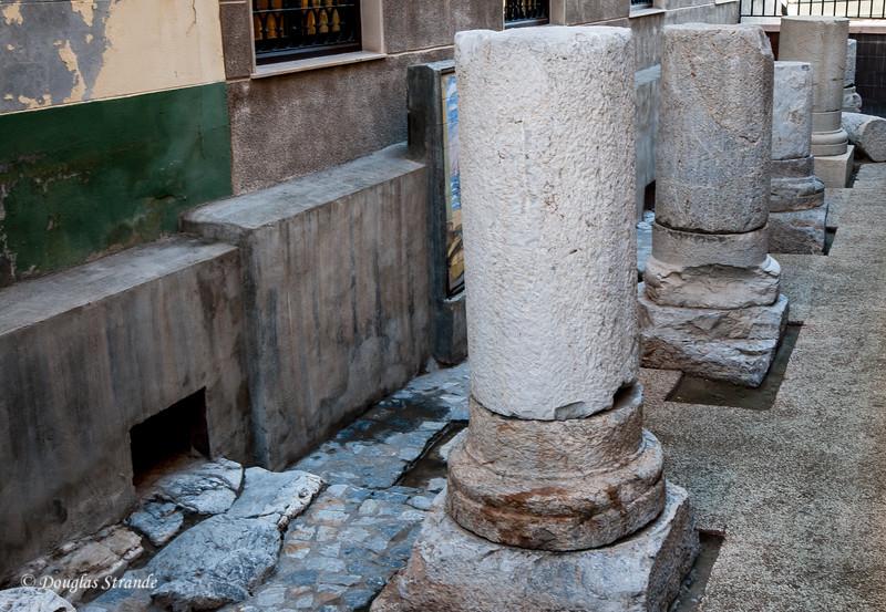 Cartagena, Spain - Roman columns