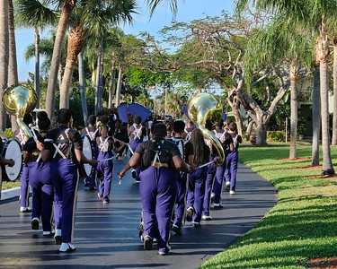 Waterside Village [visit] by Boynton Beach HS Band 2018!