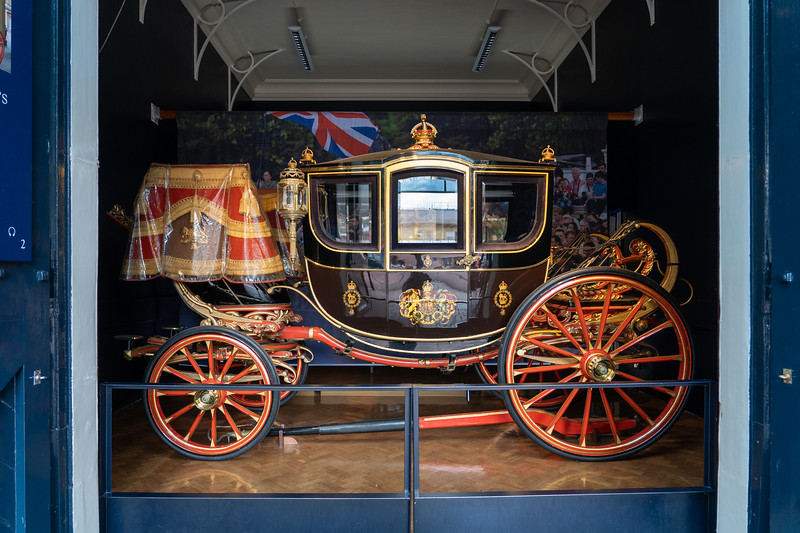 Carriage at the Royal Mews