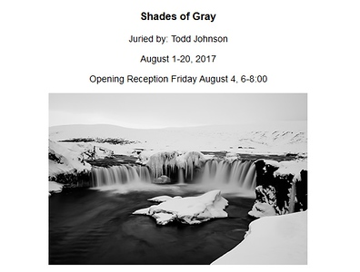 "03.08.2017 - ""Shades of Gray"" exhibition at the Black Box Gallery"