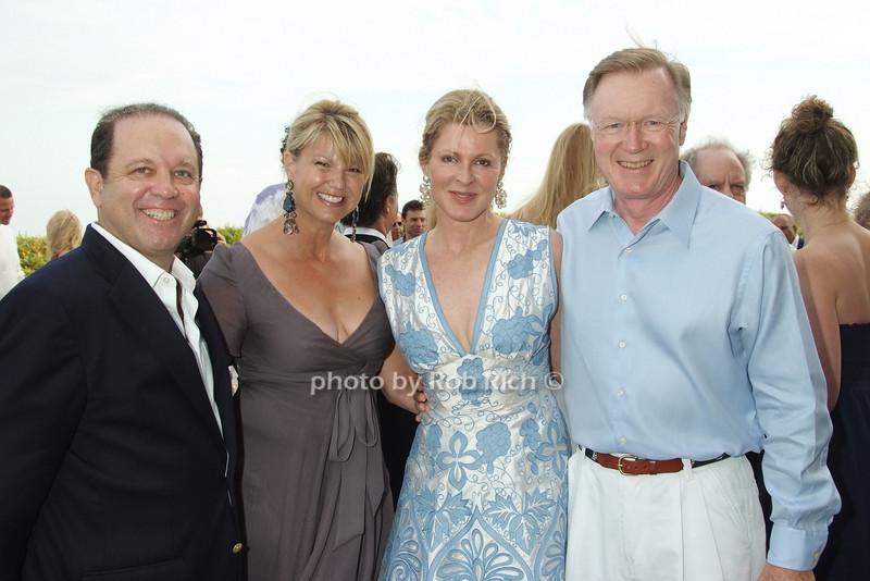 Mike Warren, Marcy Warren, Ellen Scarborough, Chuck Scarborough photo by Rob Rich © 2008 516-676-3939 robwayne1@aol.com