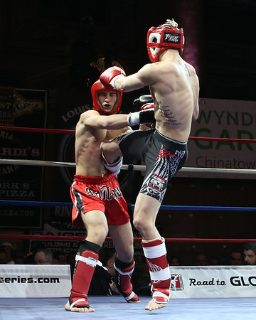 Muay Thai Kickboxing at Capitale 130322