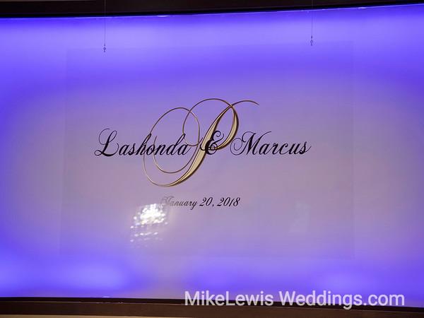 LaShonda & Marcus Wedding at Piazza on the Green
