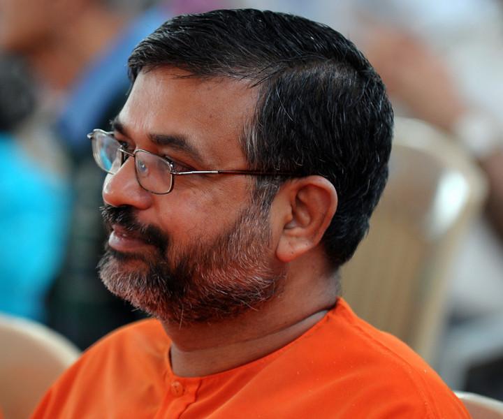 Swamijis at Chinmaya Mission's International Camp, Dec 26th to Jan 1st, 2009 held at Chinmaya Vibhooti, Kolwan, Maharashtra, India.