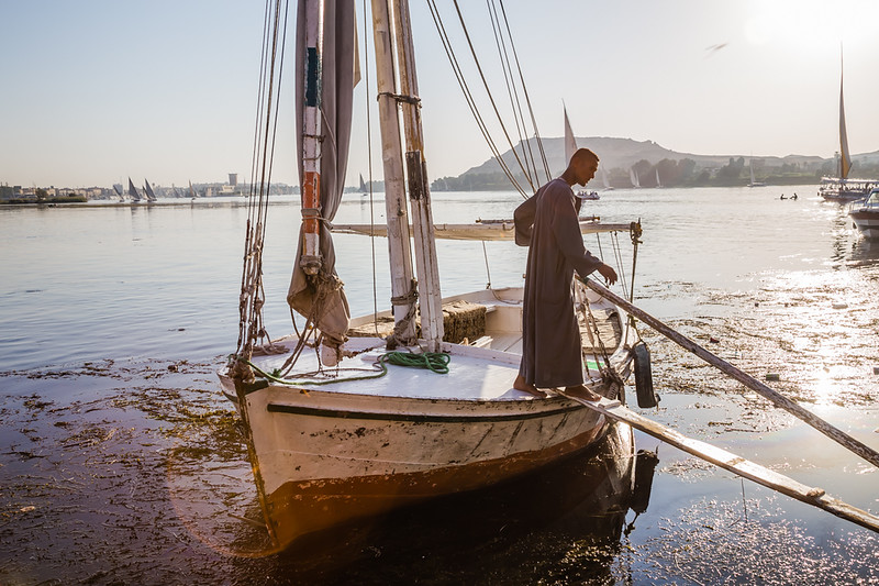 Nile River Cruise in Aswan Egypt