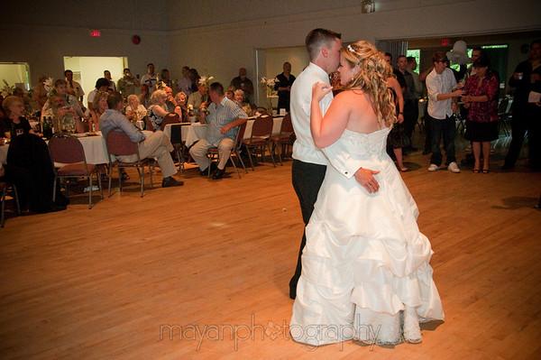 Reception Dancing - July 11 09