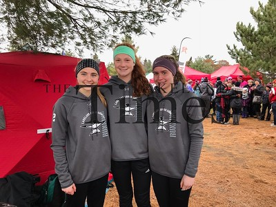 LUHS Cross Country at STATE November 2, 2019