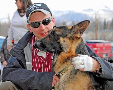 Buddy the German Shepherd Hero - Award Ceremony - April 16, 2010
