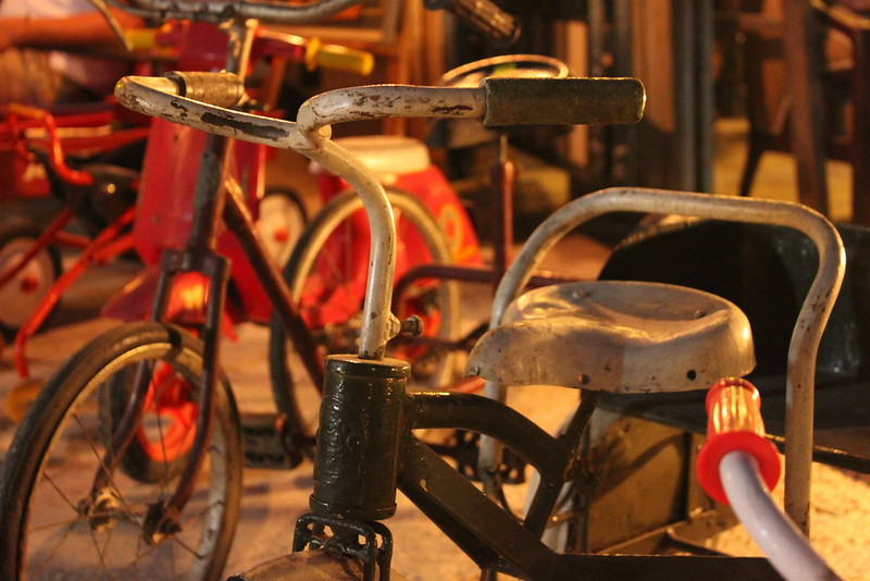 There are lots of old and new bikes for sale here
