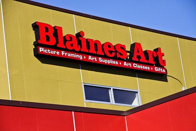 Blaines Art : New Building