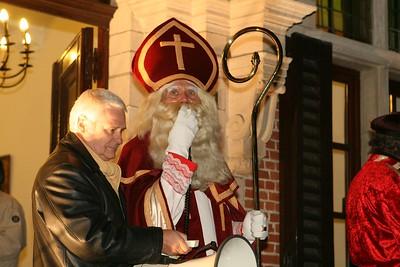 Lichtstoet en Sinterklaas 2007 - Aankomst Sinterklaas