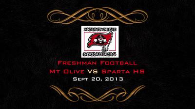 Mt Olive Freshman Football VS Sparta