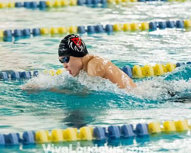 Swim: Conference 21 Championships 1.31.14 by Joel Wolcott