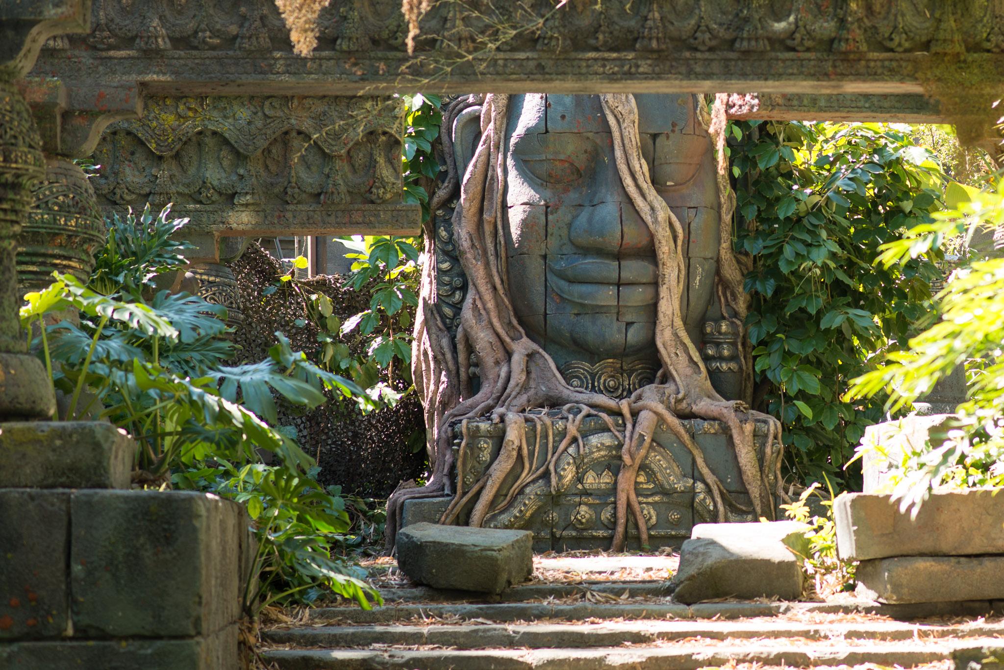 Cambodian Temple - Jungle Cruise - Walt Disney World Magic Kingdom
