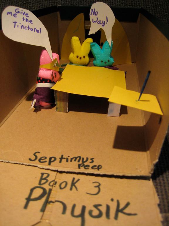. Septimus Peep Book Three Physik (Ella Bajcsi, age 10)