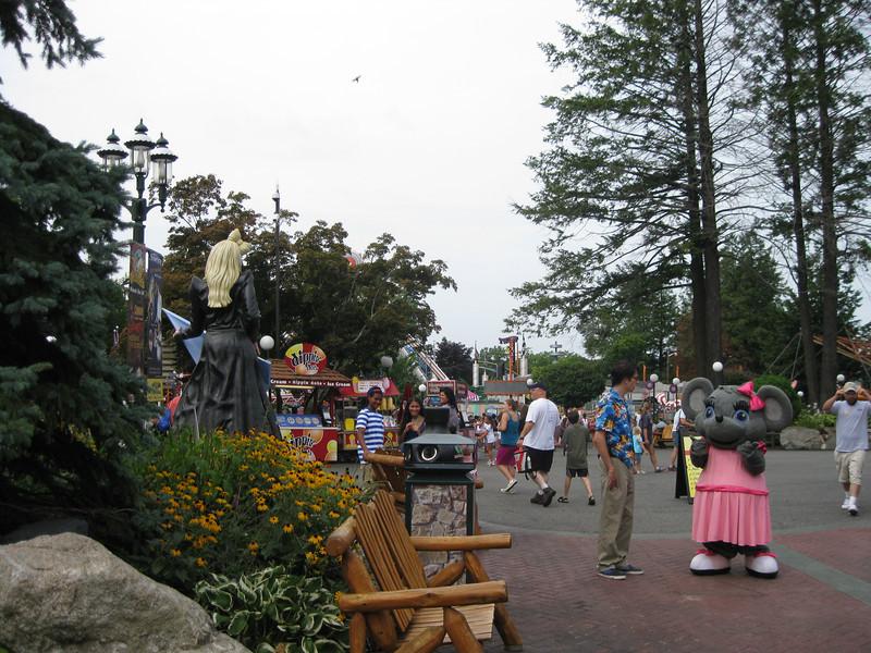 I visited Canobie Lake Park on August 25, 2012.