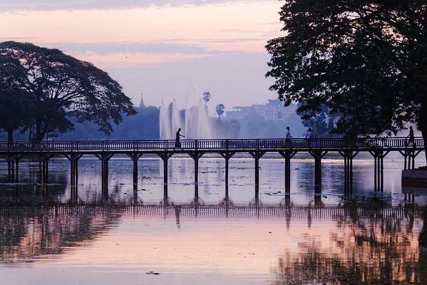 Matinée au Parc - Yangon