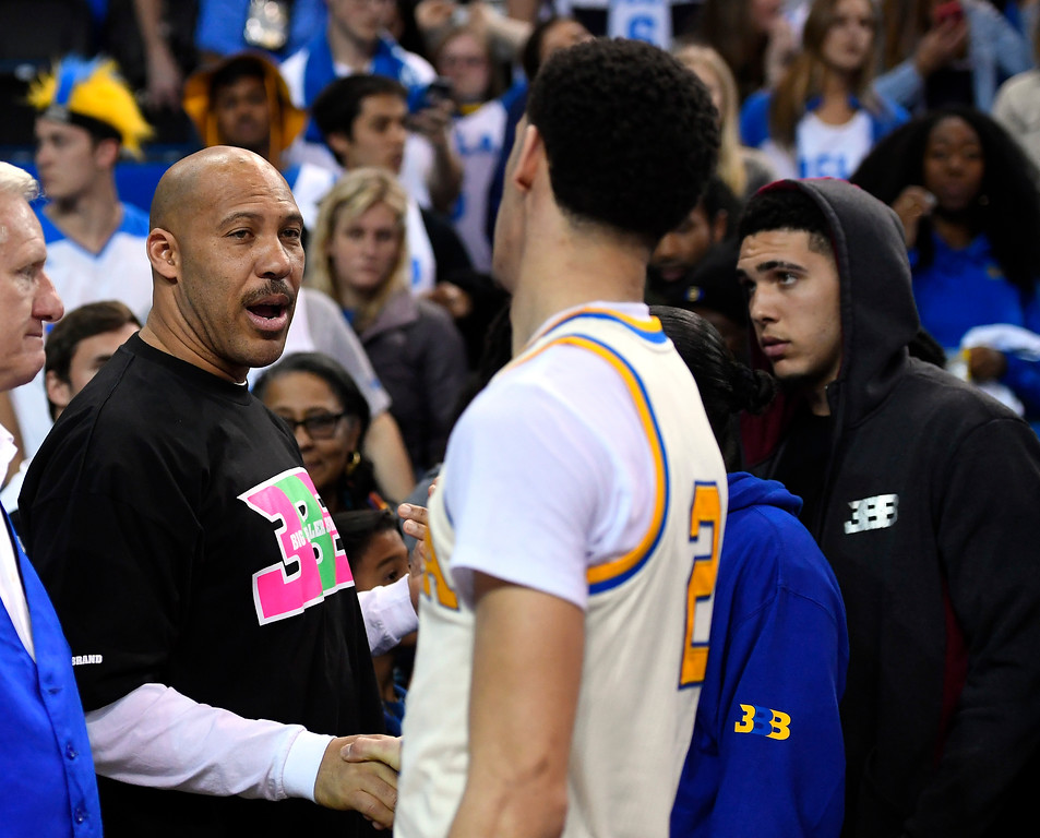 . ... via three sons, one in the NBA, one at UCLA and one who is one of the most recognized high school basketball players in the country.  (AP Photo/Mark J. Terrill, File)