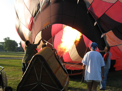 Hot air Balloon July 2011