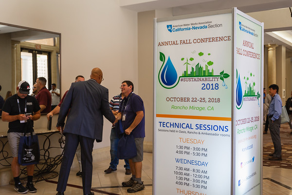 AWWA October 23 2018 Conference