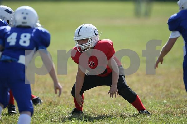 4th Grade-Odessa Bulldogs Red vs Grain Valley Eagles Blue 9-19-09