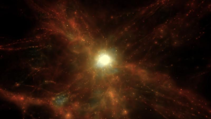 Gassy Cosmic Web